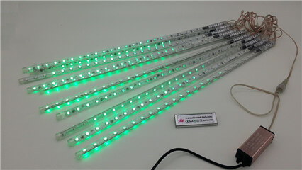 led meteor lights