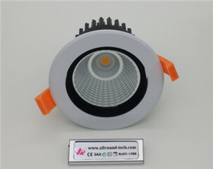 high quality led spotlight for hotel